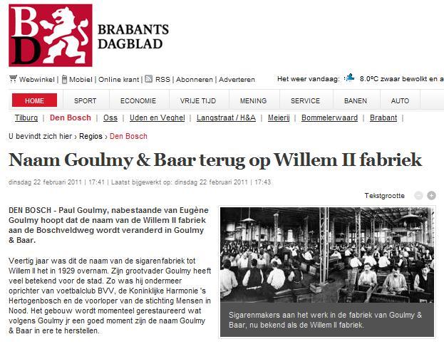 Naam_Goulmy_Baar_terug_op_Willem_II_fabriek_Den_Bosch_Regios_Brabants_Dagblad_1298740109823