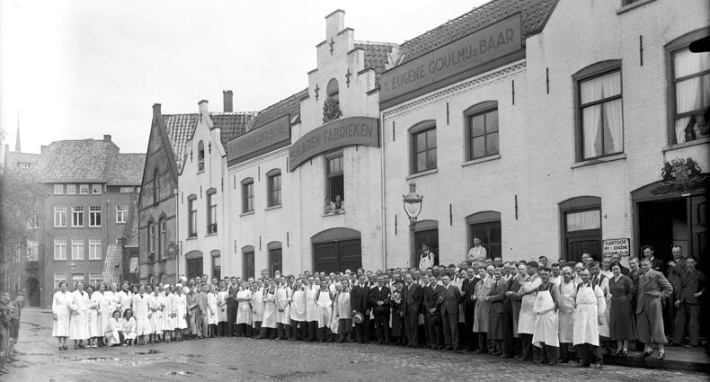 Fabriek waar Rudolph Baar na 1929 doorging onder de naam Goulmy & Baar aan Westwal