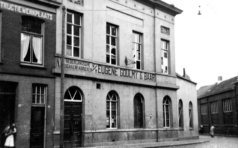 Eerste fabriek Goulmy & Baar in Sint-Jorisstraat