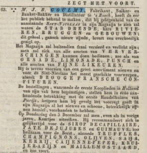 advertentie 1833-11-30