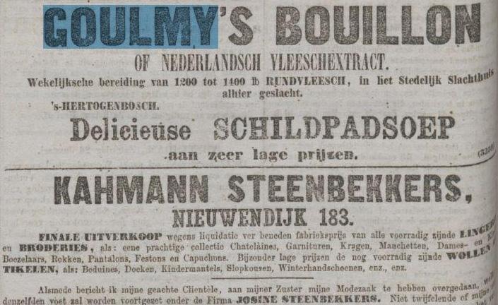Goulmy's bouillion AH 1878-01-27